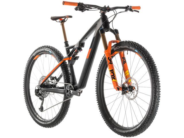Cube AMS 100 C:68 TM MTB Fullsuspension sort (2019) | Mountainbikes